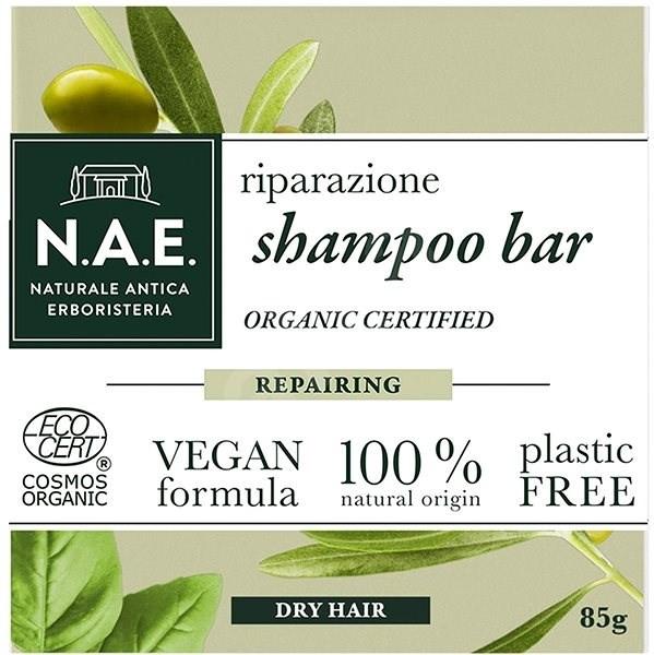 Tuhý šampón pre suché vlasy - N.A.E. Repairing Shampoo Bar
