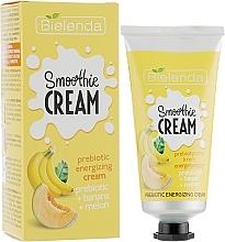 """Voňavky, Parfémy, kozmetika Energizujúci krém na tvár """"Banán a melón"""" - Bielenda Smoothie Cream Banana And Melon"""
