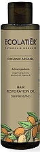 """Voňavky, Parfémy, kozmetika Olej na vlasy """"Hĺbková regenerácia"""" - Ecolatier Organic Argana Hair Restoration Oil"""