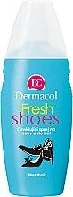 Voňavky, Parfémy, kozmetika Sprej na nohy a topánky osviežujúci - Dermacol Fresh Shoes Spray