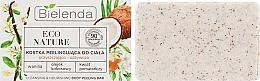 """Voňavky, Parfémy, kozmetika Peelingové mydlo na telo """"Kokos"""" - Bielenda Eco Nature Body Peeling Bar Vanilla Coconut Milk Orange"""