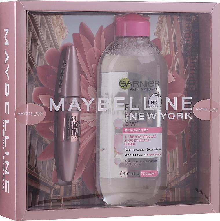 Sada - Maybelline New York (mascara/9.5ml + micellar water/400ml)