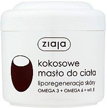 """Voňavky, Parfémy, kozmetika Telový olej """"Kokosové"""" - Ziaja Body Butter"""