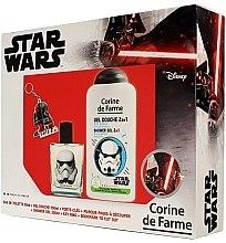Voňavky, Parfémy, kozmetika Corine de Farme Star Wars - Sada (edt/50ml +sh/gel/250ml + accessories)