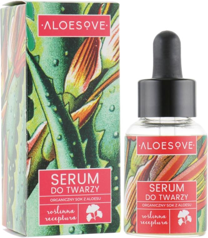 Sérum na tvár s organickým extraktom aloe šťavy - Aloesove