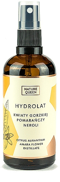 "Hydrolat ""Horký pomaranč"" - Nature Queen"