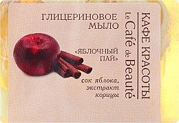 """Voňavky, Parfémy, kozmetika Glycerínové mydlo """"Jablečný koláč"""" - Le Cafe de Beaute Glycerin Soap"""
