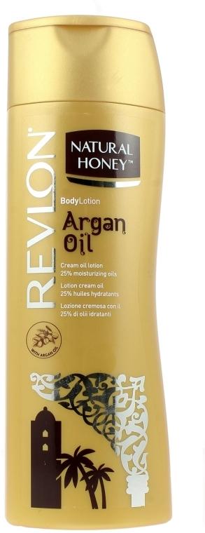 "Lotion na telo ""Arganový olej"" - Revlon Natural Honey Argan Oil Body Lotion — Obrázky N1"