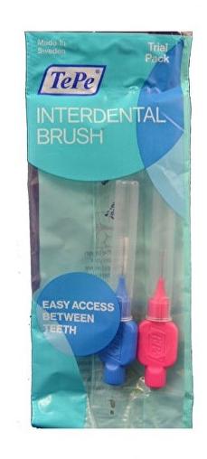 Sada medzizubných kefiek, 0,4 mm + 0,6 mm - TePe Interdental Normal Brushes — Obrázky N1