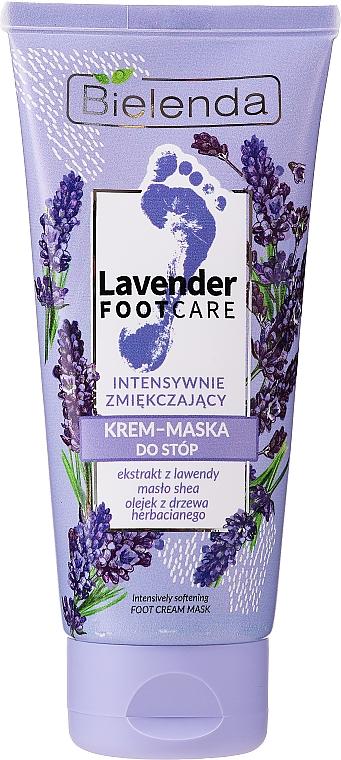 Zjemňujúca krémová maska na nohy - Bielenda Lavender Foot Care Foot Cream Mask
