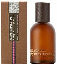 Voňavky, Parfémy, kozmetika Bath House Cuban Cedar & Lime - Kolínska voda
