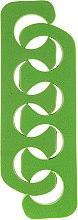 Voňavky, Parfémy, kozmetika Oddeľovač na pedikúru 7583, zelený - Top Choice
