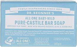 Voňavky, Parfémy, kozmetika Mydlo pre deti - Dr. Bronner's Pure Castile Bar Soap Baby-Mild