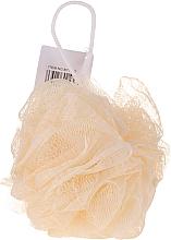Voňavky, Parfémy, kozmetika Špongia do kúpeľa, žltá - IDC Institute Design Mesh Pouf Bath Sponges