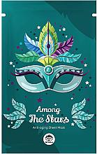Voňavky, Parfémy, kozmetika Textilná maska na tvár - Dr Mola Among The Stars Anti-Aging Mask
