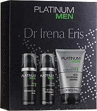 Voňavky, Parfémy, kozmetika Sada - Dr. Irena Eris Platinum Men (shm/125ml + ash/balm/50ml + cr/50ml)