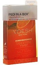 "Voňavky, Parfémy, kozmetika Sada na pedikúru ""Mandarinka"" - Voesh Deluxe Pedicure Tangerine Twist Pedi In A Box 4 in 1"
