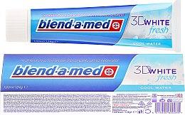 """Voňavky, Parfémy, kozmetika Zubná pasta """"Chladná sviežosť"""" - Blend-a-med 3D White Fresh Cool Water Toothpaste"""