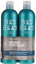 Voňavky, Parfémy, kozmetika Sada - Tigi Bed Head Recovery Shampoo&Conditioner (sh/750ml + cond/750ml)