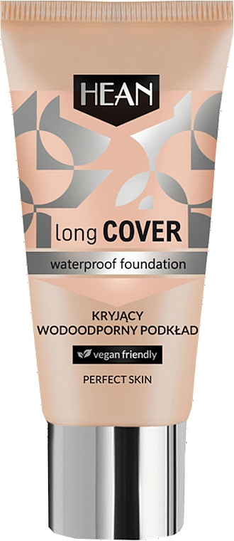 Vodotesný make-up - Hean Long Cover Waterproof Foundation