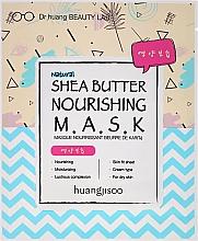 Voňavky, Parfémy, kozmetika Výživná textilná maska na tvár - Huangjisoo Shea Butter Nourishing Mask