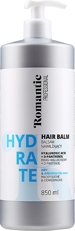 Balzam na suché vlasy - Romantic Professional Hydrate Hair Balm