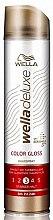 Voňavky, Parfémy, kozmetika Lak na vlasy - Wella Deluxe Color Gloss Strong