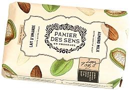 "Voňavky, Parfémy, kozmetika Extra jemné mydlo s bambuckým maslom ""Mandle"" - Panier des Sens Shea Butter Soap Almond Milk"