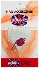 Voňavky, Parfémy, kozmetika Reťaz na ozdobenie nechtov, 00378, zlato-ružová - Ronney Professional