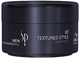 Voňavky, Parfémy, kozmetika Matovacia vlasová pasta - Wella SP Men Textured Style Paste
