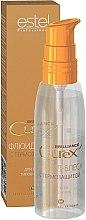 Voňavky, Parfémy, kozmetika Fluid a lesk s tepelnou ochranou pre všetky typy vlasov - Estel Professional Curex Brilliance Fluid