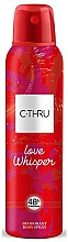 Voňavky, Parfémy, kozmetika C-Thru Love Whisper - Dezodorant na telo