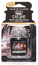 Voňavky, Parfémy, kozmetika Gélová aróma - Yankee Candle Car Jar Ultimate Black Coconut