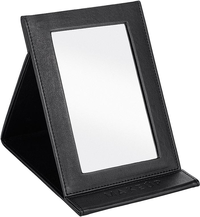 Kozmetické skladacie zrkadlo, čierne - MakeUp Tabletop Cosmetic Mirror Black