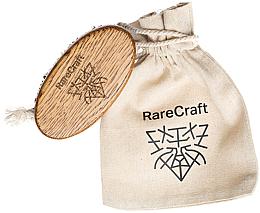 Voňavky, Parfémy, kozmetika Kefa na bradu z duba, 11,5 x 6 cm, - RareCraft