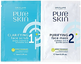 Voňavky, Parfémy, kozmetika Maska na tvár a čistiaca maska - Oriflame Pure Skin Face Scrub & Mask