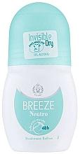 Voňavky, Parfémy, kozmetika Breeze Neutro Deodorant Roll-On - Guľôčkový dezodorant