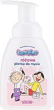 Voňavky, Parfémy, kozmetika Pena na umývanie rúk a tela, ružová - Nivea Bambino Kids Bath Foam Pink