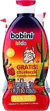 Voňavky, Parfémy, kozmetika Sada - Bobini Kids Set (gel/shmp/330ml + wipes/15pcs)