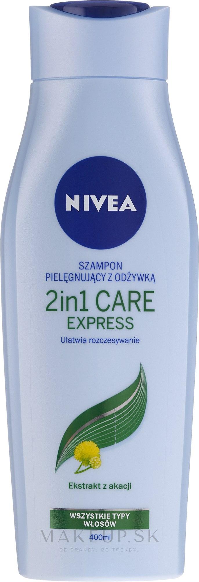 """Šampón-kondicionér 2v1 """"Expresná starostlivosť"""" - Nivea Hair Care 2 in 1 Express Shampoo — Obrázky 250 ml"""