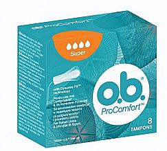 Voňavky, Parfémy, kozmetika Tampóny, 8 ks, 4 kvapky - o.b. ProComfort Super Tampons
