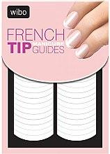 Voňavky, Parfémy, kozmetika Francúzska nálepka na manikúru šablóny - Wibo French Manicure Tip Guides