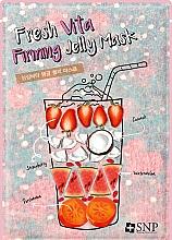 Voňavky, Parfémy, kozmetika Maska na tvár posilňovacia - SNP Fresh Vita Firming Jelly Mask