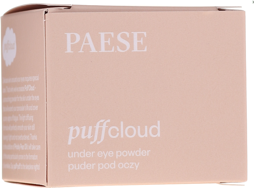 Púder na pokožku okolo očí - Paese Puff Cloud