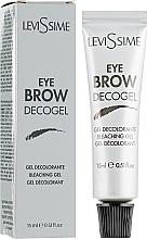 Voňavky, Parfémy, kozmetika Zosvetľujúci gél na obočie - LeviSsime Eye Brow Decogel