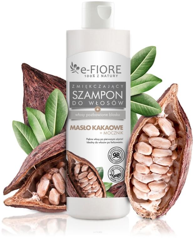 Šampón na vlasy s kakaovým maslom a močovinou - E-Fiori