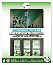 """Voňavky, Parfémy, kozmetika Sada éterických olejov """"Zimná"""" - Galeo Vital Oils For Winter (ess/oil/3x10ml)"""