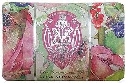 "Voňavky, Parfémy, kozmetika Mydlo ""Divoká ruža"" - La Florentina Wild Rose Bath Soap"