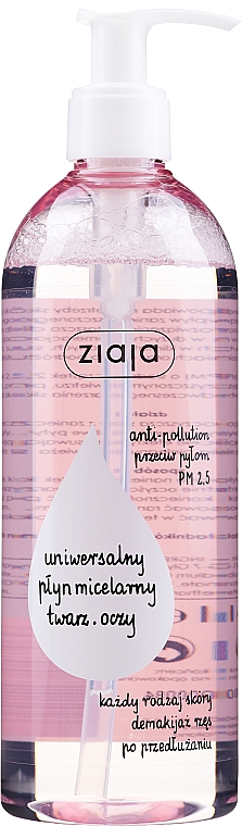 Micelárna voda - Ziaja Micellar Water Universal For Face And Eyes All Skin Types