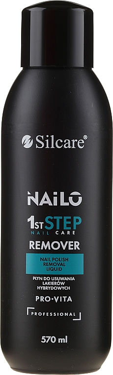 Odlakovač bez acetónu - Silcare Nailo Pro-Vita